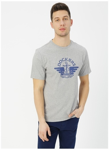 Dockers Dockers Logo Tee T-Shirt Gri